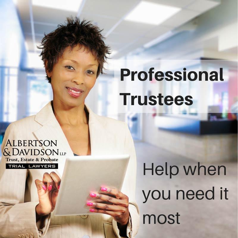 Professional Trustees