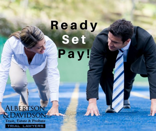 Will i be reimbursed for legal expenses after probate in california man and woman getting ready to start the race ready set pay solutioingenieria Choice Image