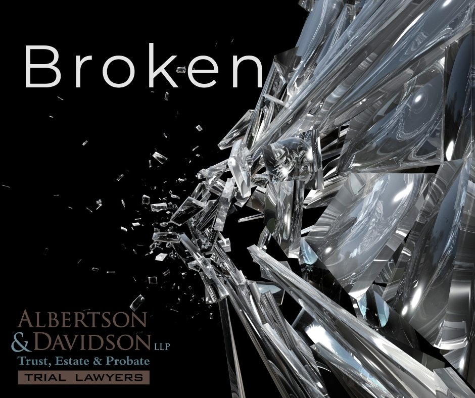image of broken glass